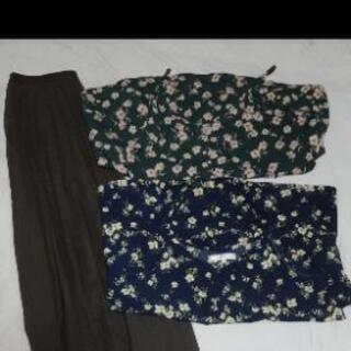 美品 ワンピース スカート セット