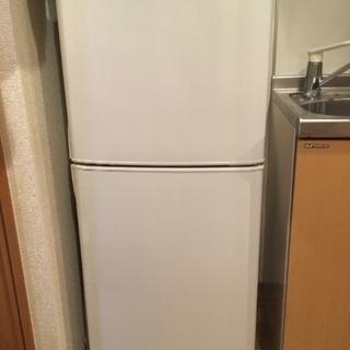三菱電機製 2ドア冷蔵庫 MR-14N-W