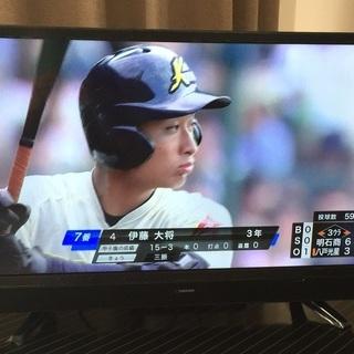 液晶テレビ 24V型 美品 保証書あり☆評判の良い maxzen...