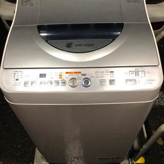 🌈超希少‼️単身規格🌟唯一の乾燥機能付き機種‼️SHARP🌟5....