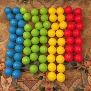 カラーボール73個