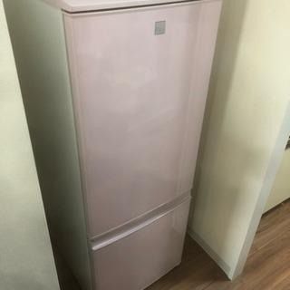 中古相場21000円 SHARP 2015年冷蔵庫 167…