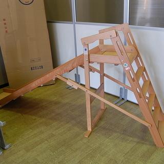 サワベビー 折り畳み式滑り台 木製 No.133 家庭用 すべり...