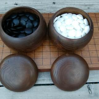 《姫路》囲碁セット(囲碁板、囲碁石)遊んでちょんまげ^^
