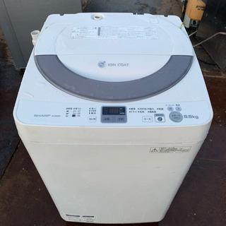 ★◆ 洗濯機 5.5kg シャープ ES-GE55N-S 201...