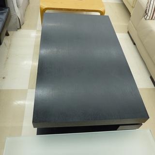 センターテーブル ロータイプ オールブラック 中古品 札幌市 清田区