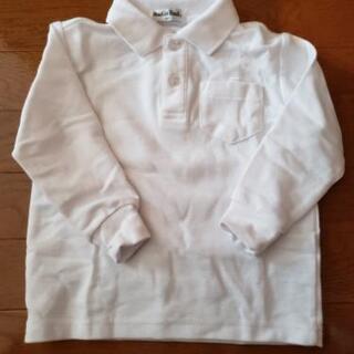 ポロシャツ白子ども用 幼稚園面接