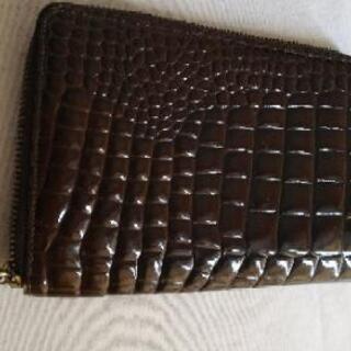 ジュンコシマダのクロコダイル風財布