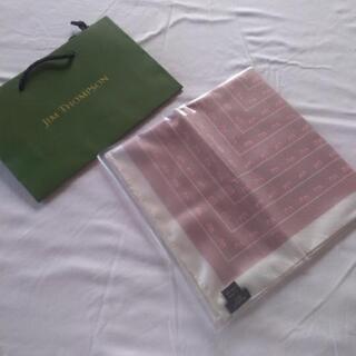 未開封新品:タイ土産:スカーフ:JIM THOMPSON ミドルサイズ