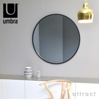 【美品】アンブラ umbra ハブ ミラー HUB MIRROR Lサイズ Φ91cm ウォールミラー 壁掛けの画像