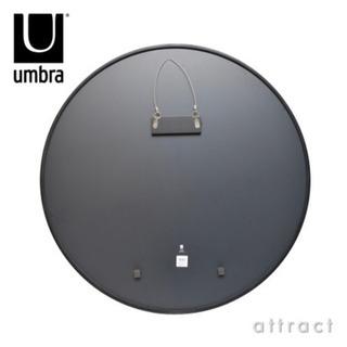 【美品】アンブラ umbra ハブ ミラー HUB MIRROR Lサイズ Φ91cm ウォールミラー 壁掛け - 家具