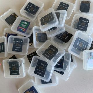 SDカード4GB[1枚売り]36枚あります