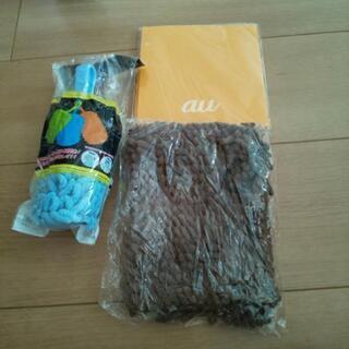 お掃除ハンディモップ①+超吸水タオル(2枚セット)