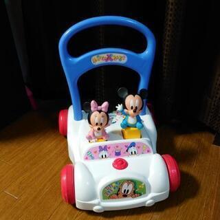 ディズニー手押し車