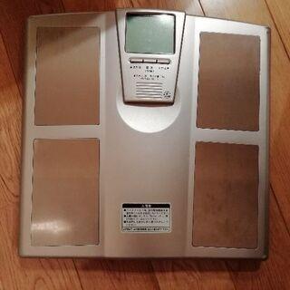 ジムライン体脂肪計付ヘルスメーター