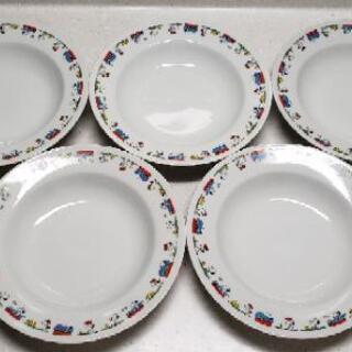 スヌーピースープ皿 5枚セット