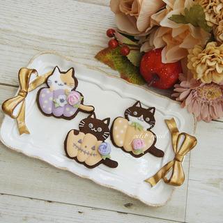アイシングクッキー 10月1dayレッスン - 料理