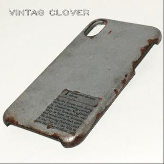 ヴィンテージTTTS iPhoneXRケース/オーダー サビ塗装