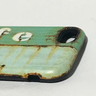 ミントカフェトランクiPhone6/6s/7/8対応ケースサビ塗装 − 兵庫県