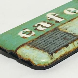 ミントカフェトランクiPhone6/6s/7/8対応ケースサビ塗装 - 売ります・あげます