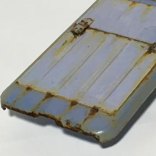 プレスラインSB iPhoneX、XS対応ケース サビ塗装 - 携帯電話/スマホ