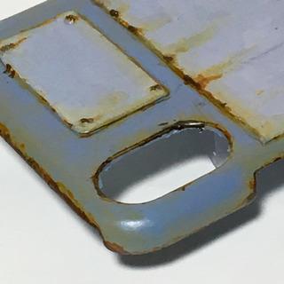 プレスラインSB iPhoneX、XS対応ケース サビ塗装 - 売ります・あげます