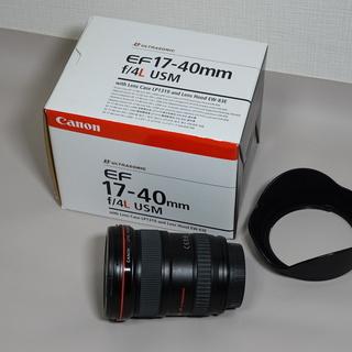 【代引き発送可】Canon EF17-40mm f/4.0L USM
