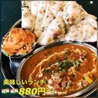 インド料理Bonoboボノボ☆宝塚の老舗☆美味しいナン!