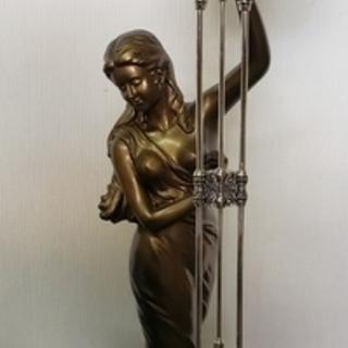 置時計 CITIZEN 女神ブロンズ像