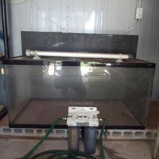 120x60x60アクリル水槽セット