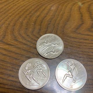 記念硬貨 第12回アジア競技広島 500円硬貨3枚セット