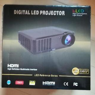 値下 破格 WhaleStone LED プロジェクター