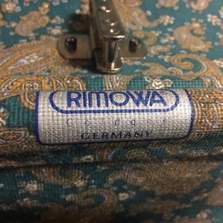 リモワ スーツケース ワインレッド サイドハンドル