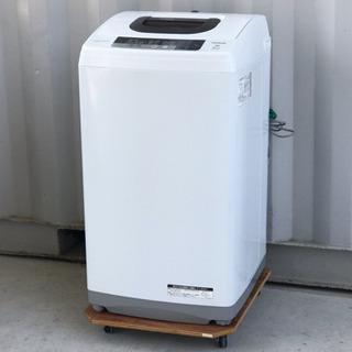 美品!日立洗濯機◇5㎏◇2016年製◇NW-5WR◆JW-0037