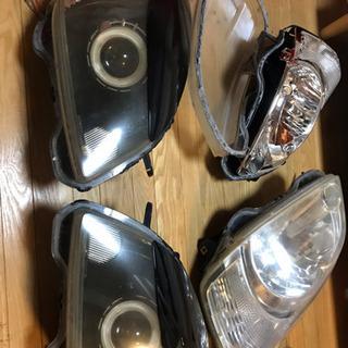 JB1ライフ用ヘッドライト一式