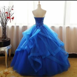 ウェディングカラードレス
