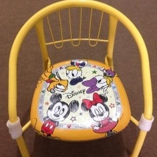 座ると音のなる 子供 椅子 ベビーチェアー  ミッキーマウス デ...