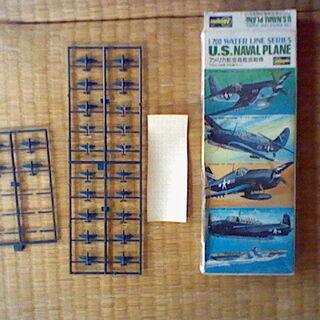 アメリカ海軍機シリーズ 1/700 戦闘機、爆撃機、雷撃機 半ジャンク