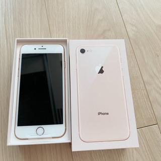 iPhone 8 ゴールド 64GB Sim free済み 新品...