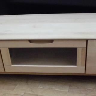 テレビボード TV台 テレビ台 AVボード 木製 ナチュラルブラ...
