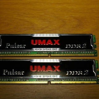 ディスクトップパソコン用DDR2-2GBメモリー 【値下げ】