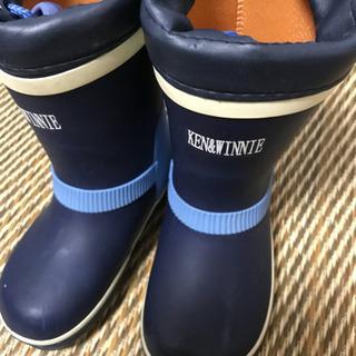 KEN&WINNIE  長靴 レインブーツ  17cm