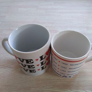 マグカップ 2つ