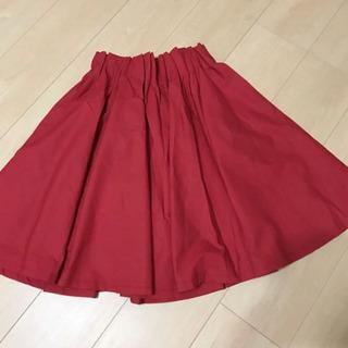 赤色スカート 美品