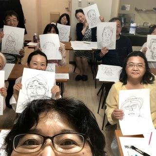 誰でも、3時間で、自動的に絵が描けるワークショップ「快画塾」福岡クラス - 福岡市