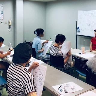 誰でも、3時間で、自動的に絵が描けるワークショップ「快画塾」福岡クラス - 絵画