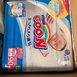 グーン 新生児用 おむつ テープタイプ 5キロ