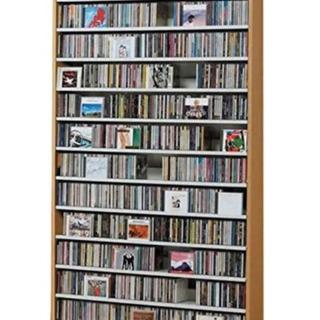 取りに来ていただける方限定!1284枚大量収納!CD屋さんのCD...