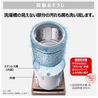 日立洗濯機BW-V80C 2018年製 − 神奈川県