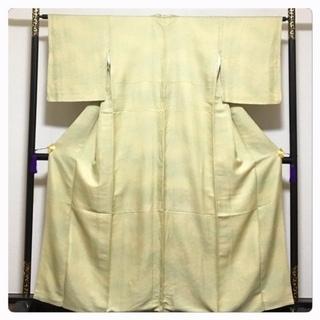美品 極上 高級呉服 身丈160 裄64 正絹 色無地 紋無 中古品